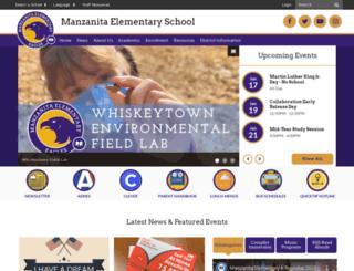 manzanita.reddingschools.net screenshot