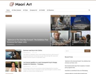 maoriart.net screenshot
