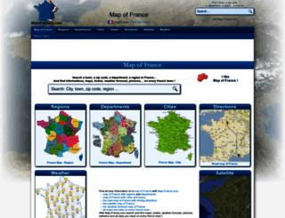 map-france.com screenshot