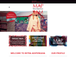 map-indonesia.com screenshot