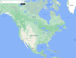 map.google.com screenshot