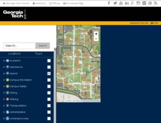 map.gtalumni.org screenshot