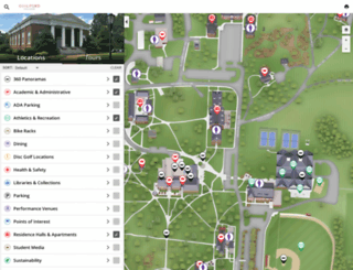 map.guilford.edu screenshot