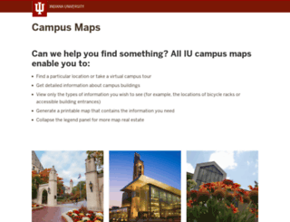 map.iu.edu screenshot