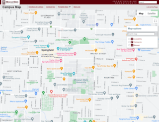 map.missouristate.edu screenshot