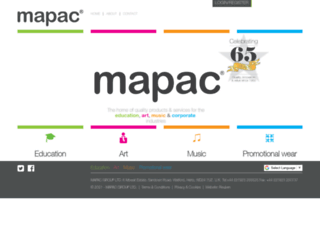mapac.com screenshot