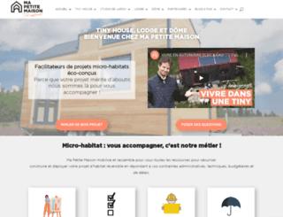 mapetitemaison.com screenshot