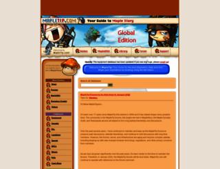 mapletip.com screenshot