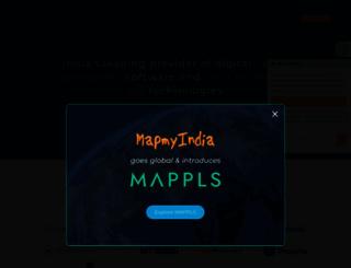 mapmyindia.com screenshot