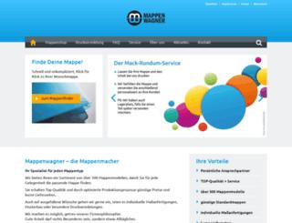 mappenwagner.de screenshot