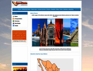 maps-of-mexico.com screenshot