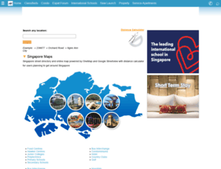 maps.singaporeexpats.com screenshot