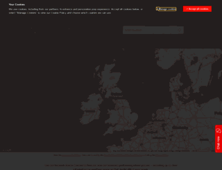maps.vodafone.co.uk screenshot