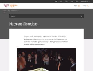 maps.vt.edu screenshot