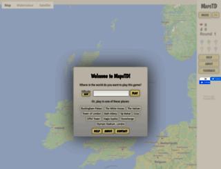 mapstd.com screenshot