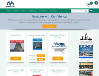 maptechnavigation.com screenshot