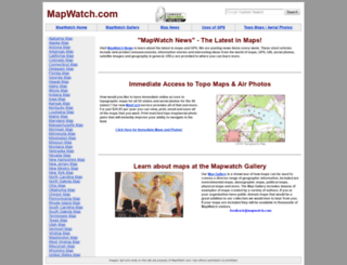 mapwatch.com screenshot