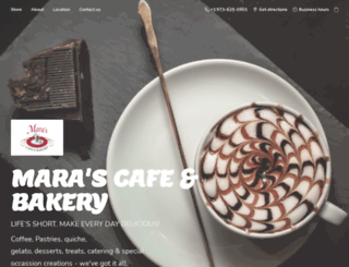 marascafe.com screenshot