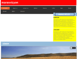 marasvizyon.com screenshot