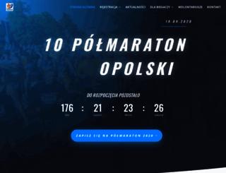 maratonopolski.pl screenshot