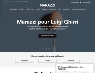 marazzi.fr screenshot