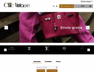 marbellachicvintage.com screenshot