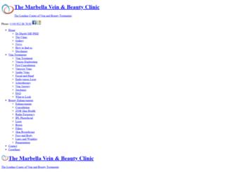 marbellavein.com screenshot