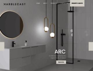 marblecast.co.za screenshot