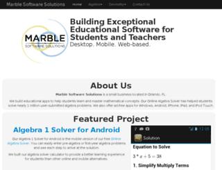 marblesoftwaresolutions.com screenshot