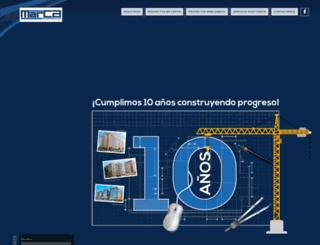 marcaconstructores.com screenshot