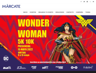marcate.com.mx screenshot