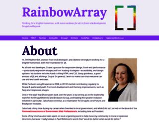 marcdrummond.com screenshot