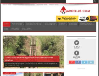 marcellus.com screenshot