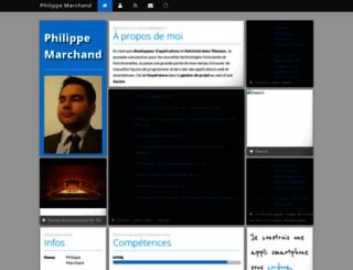marchandphilippe.fr screenshot