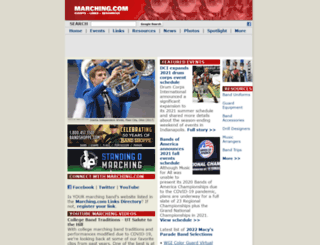 marching.com screenshot