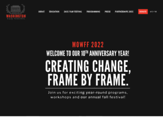 marchonwashingtonfilmfestival.org screenshot