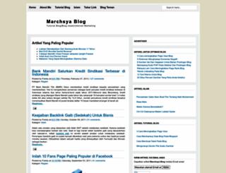 marchsya.blogspot.com screenshot