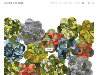 marciescudder.com screenshot