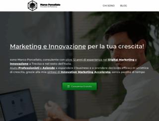 marcoporcellato.it screenshot