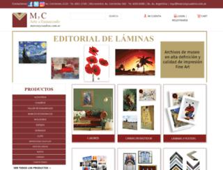 marcosycuadros.com.ar screenshot