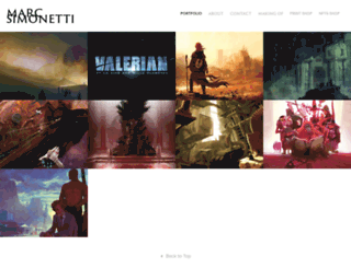marcsimonetti.com screenshot