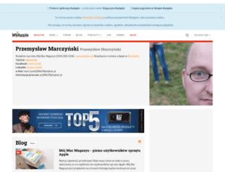 marczynski.myapple.pl screenshot