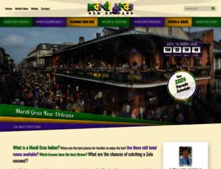 mardigrasneworleans.com screenshot