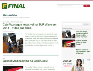 mareasfalto.final.com.br screenshot