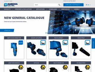 marechal.com screenshot