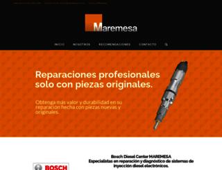 maremesa.com.mx screenshot