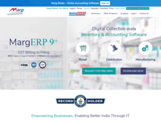 margcompusoft.com screenshot