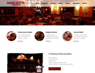 margherita.com.br screenshot