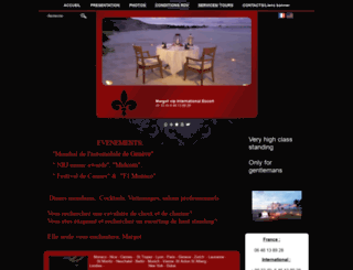 margotvipinternational.net screenshot