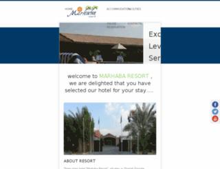 marhabaresort.org screenshot